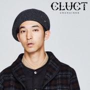 CLUCT(クラクト) BROOCH WOOLKNIT BELET 【2018HOLIDAY新作】 【ウール ニット ベレー帽】【#02908】