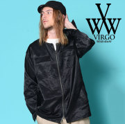 VIRGO(ヴァルゴ) NO COLLAR SOUVENIR SHIRTS 【2018-19HOLIDAY/SPRING新作】 【VG-SH-195】【ノーカラー シャツ】