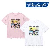 【SALE】 RADIALL(ラディアル) PASS - CREW NECK T-SHIRT 【2018 SPRING&ampSUMMER新作】 【RADIALL Tシャツ】 【RAD-18SS-TE026】