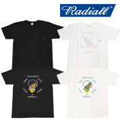 RADIALL(ラディアル) ATOMIC LADY  -CREW NECK POCKET T-SHIRT 【2018 SPRING&SUMMER SPOT】 【RAD-18SS-SPOT-TEE002】