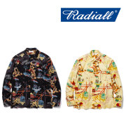 RADIALL(ラディアル) COSMIC GIPSY OPEN COLLARED SHIRT L/S 【2018 SPRING&SUMMER新作】 【RADIALL シャツ】 【RAD-18SS-SH011
