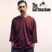 SOFTMACHINE(ソフトマシーン) FORMATION-FT(MESH 3/4 FOOTBALL T-SHIRTS) 【2019SPRING&ampSUMMER 新作】【フットボール Tシャツ】