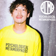 PSYCHOLOGICAL METAMORPHOSIS PLMP L/S LOGO 2 【PSYCHOLOGICAL METAMORPHOSIS  4th collection新作】 【Tシャツ】【PL04-0106】