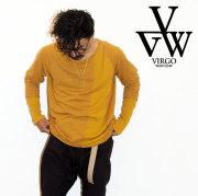 VIRGO ヴァルゴ バルゴ CRUST LINKS 【2019 LATE FALL&ampWINTER新作】【送料無料】 【VG-CUT-398】【ロングスリーブカットソー】