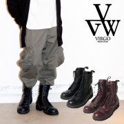 VIRGO ヴァルゴ バルゴ MILITARIA SPECIAL BOOTS NEO 【ブーツ ビブラムソール】【VG-GD-610】【2019 LATE FALL&ampWINTER新作】