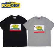 PORKCHOP GARAGE SUPPLY(ポークチョップ ガレージサプライ) PORK CALIF TEE 【プリント Tシャツ 半袖】