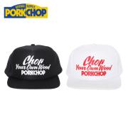 PORKCHOP GARAGE SUPPLY(ポークチョップ ガレージサプライ) CHOP YOUR OWN WOOD CAP 【メッシュキャップ】【帽子】