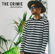 CRIMIE(クライミー) 2P-PACK BORDER LONG T-SHIRT 【2019SPRING/SUMMER新作】 【C1K1-CXTE-BD02】【ポケット Tシャツ】