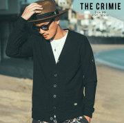 CRIMIE(クライミー) SUMMER KNIT CARDIGAN 【サマーニット カーディガン】【ブラック グレー アメカジ ミリタリー】【シンプル お