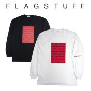 F-LAGSTUF-F(フラグスタフ) Reconfigure L/S Tee 【2018 AUTUMN&WINTER COLLECTION】 【F-LAGSTUF-F】 【フラグスタフ】【フラッ