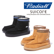 RADIALL(ラディアル) RED WOOD - MOUTON BOOTS 【2018 AUTUMN &amp WINTER COLLECTION】 【RAD-18AW-JW001】【ムートンブーツ】