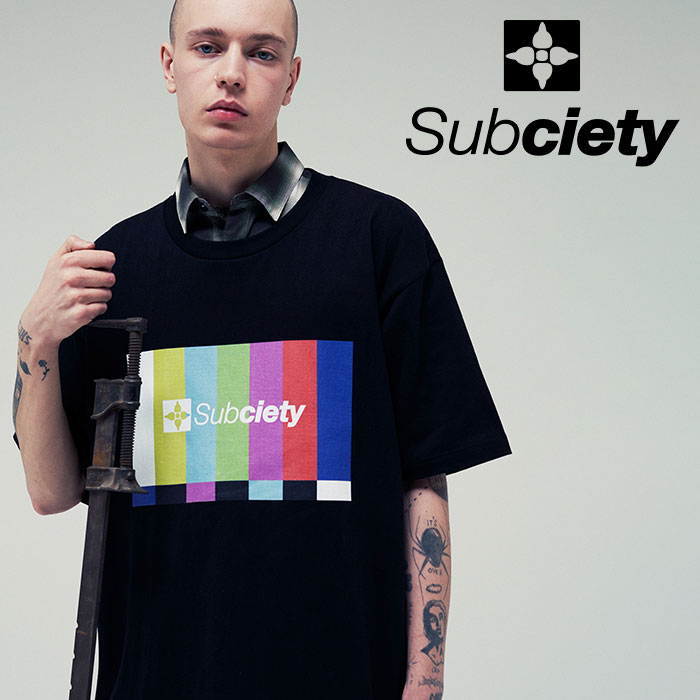 SUBCIETY(サブサエティ) HYPER BIG TEE 【2019SUMMER先行予約】 【キャンセル不可】【109-40411】【Tシャツ】