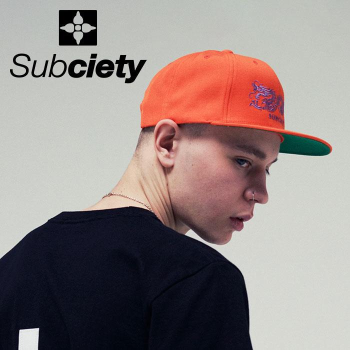 SUBCIETY(サブサエティ) SNAP BACK CAP-DRAGON-  【2019SUMMER新作】 【109-86419】【キャップ】