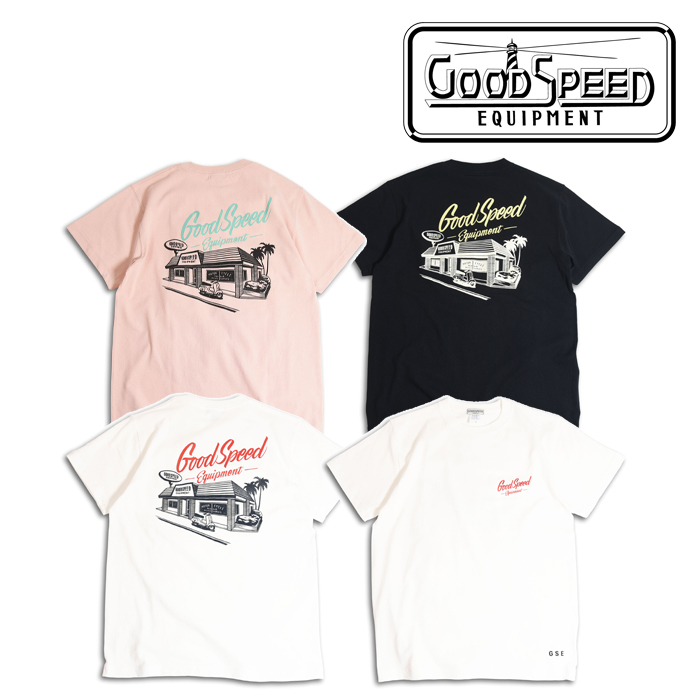 GOODSPEED equipment(グッドスピードエクイップメント) Locals S/S T's 【EVILACT】【イーブルアクト】【ショートスリーブTEE】【G