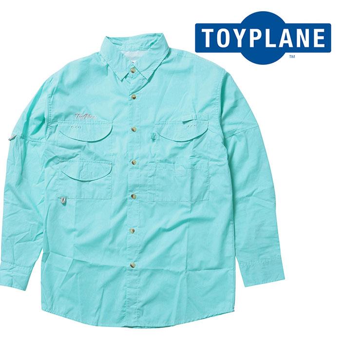 TOYPLANE(トイプレーン) L/S FISHING SHIRT 【ロングスリーブシャツ】【2020 1st 先行予約】【TP20-HSH01】【キャンセル不可】