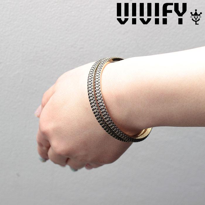 VIVIFY(ヴィヴィファイ)(ビビファイ) Crown Bangle/brass/Lady's 【VIVIFY バングル】【VFB-117】【オーダーメイド ハンドメイド