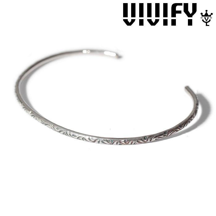 VIVIFY(ヴィヴィファイ)(ビビファイ) Arabesque Bangle(2mm body) 【VIVIFY バングル】【VFB-150】【オーダーメイド ハンドメイド