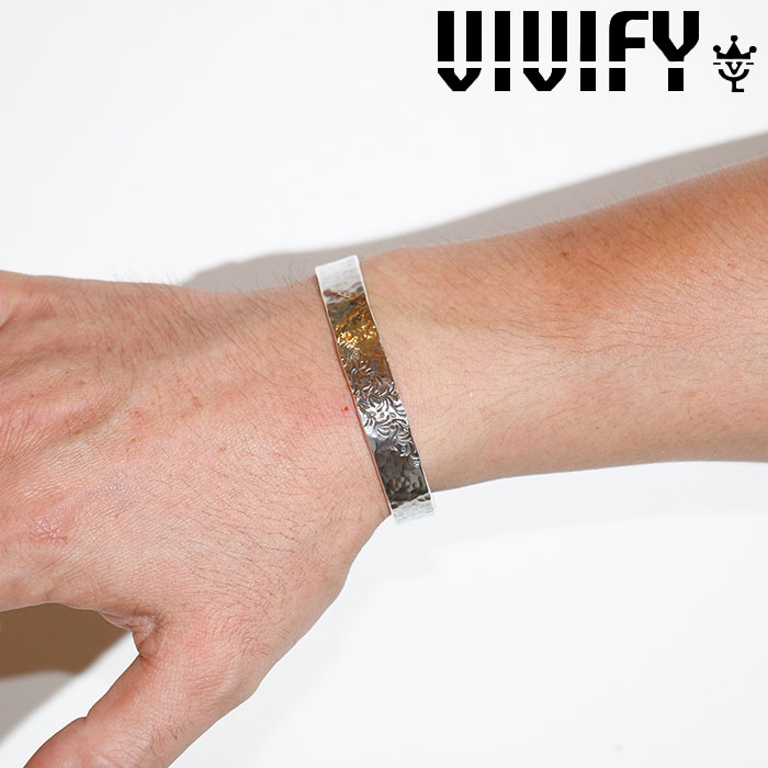 VIVIFY(ヴィヴィファイ)(ビビファイ) Gold Patch Bangle(Arabesque) 【VIVIFY バングル】【VFB-160】【オーダーメイド ハンドメ