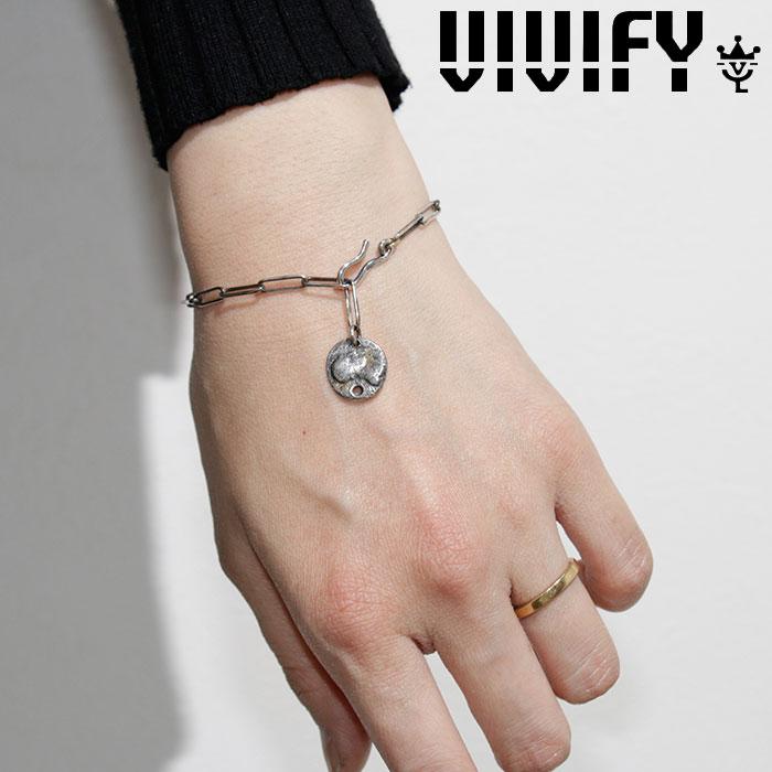 VIVIFY(ヴィヴィファイ)(ビビファイ) Ancient Coin Blacelet w/gold 【VIVIFY ブレスレット】【VFB-162】【オーダーメイド ハンド