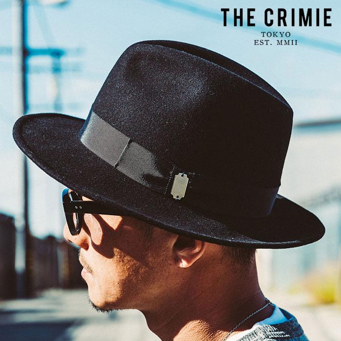 "CRIMIE(クライミー) ROLLING HAT 【ローリングハット】 【""THE"" SERIES COLLECTION】【定番商品】【CRA1-HWHT-RL01】メンズ ハッ"