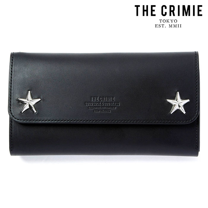 "CRIMIE(クライミー) STAR STUDS BIKER TRAVEL WALLET 【""THE"" SERIES COLLECTION 先行予約】【定番商品】【キャンセル不可】【CRA1"