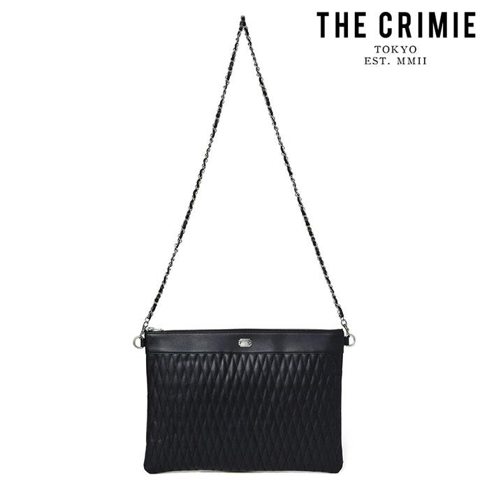 "CRIMIE(クライミー) DIAMOND QUILT 2WAY CLUTCH BAG BIG(WOMEN) 【""THE"" SERIES COLLECTION 先行予約】【定番商品】【キャンセル不"