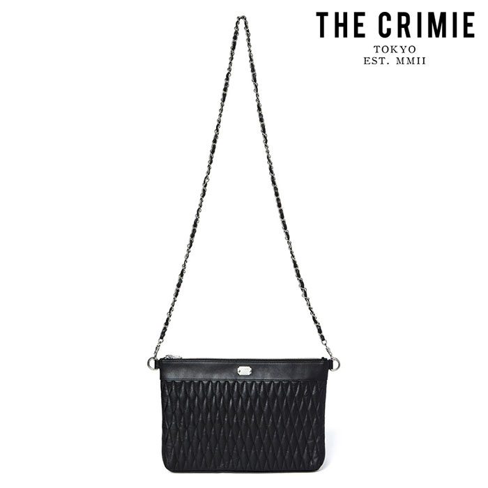 "CRIMIE(クライミー) DIAMOND QUILT 2WAY CLUTCH BAG MIDDLE(WOMEN) 【""THE"" SERIES COLLECTION 先行予約】【定番商品】【キャンセ"