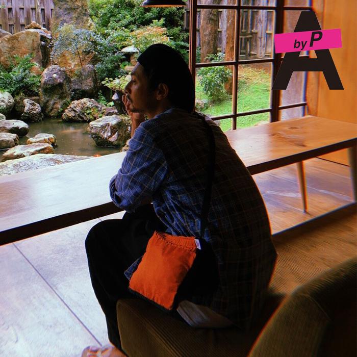 A by P 春日潤也×AbyP RIVERSIBLE SACOCHE 【サコシュ】【キャンセル不可】