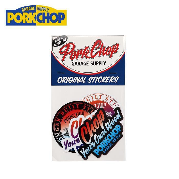 PORKCHOP GARAGE SUPPLY(ポークチョップ ガレージサプライ) GRADATION STICKER SET 【ステッカー シール】