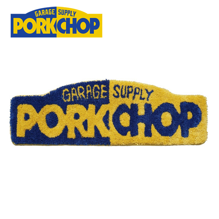 PORKCHOP GARAGE SUPPLY(ポークチョップ ガレージサプライ) PORK RUG SMALL 【ラグ マット】