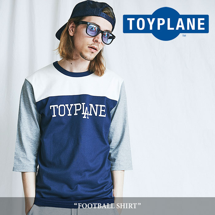 TOYPLANE(トイプレーン)  FOOTBALL SHIRT 【2018SUMMER/FALL新作】【TP18-NCS03】