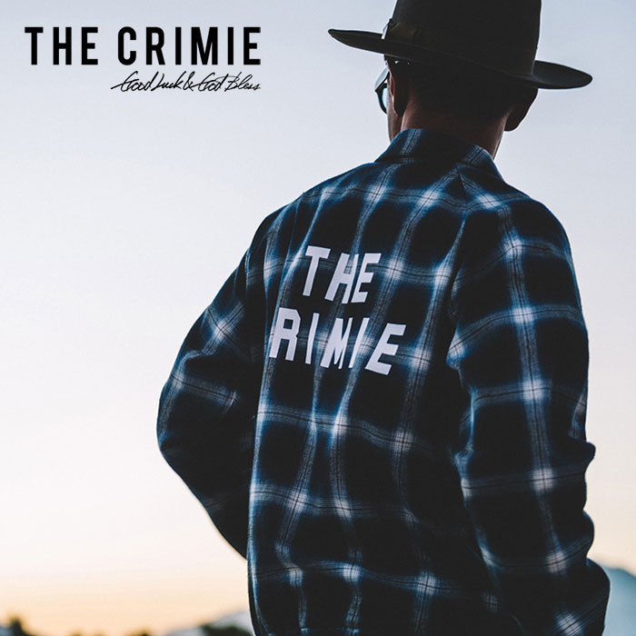 【SALE40%OFF】 CRIMIE(クライミー) REVERSIBLE CHECK BLOUSON 【リバーシブル チェック ブルゾン】【クライミー セール】【送料