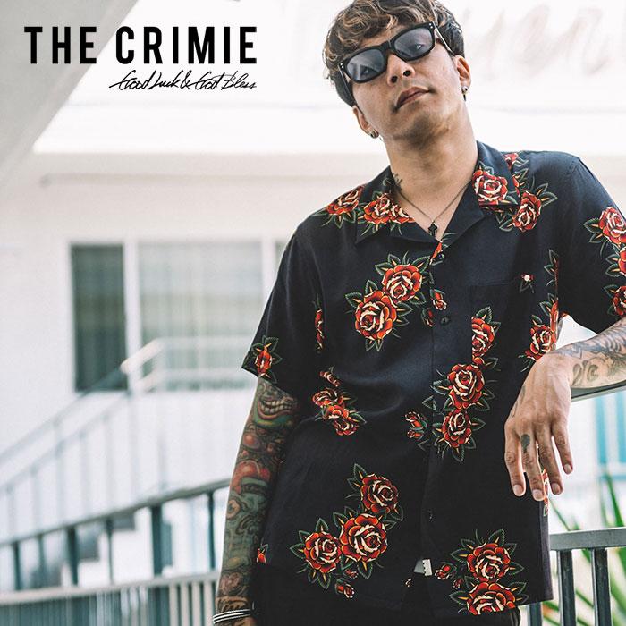 【SALE20%OFF】 CRIMIE(クライミー) ROSE ALOHA SHORT SHIRT 【2019SPRING/SUMMER新作】【送料無料】 【C1K1-SH13】【半袖 アロ
