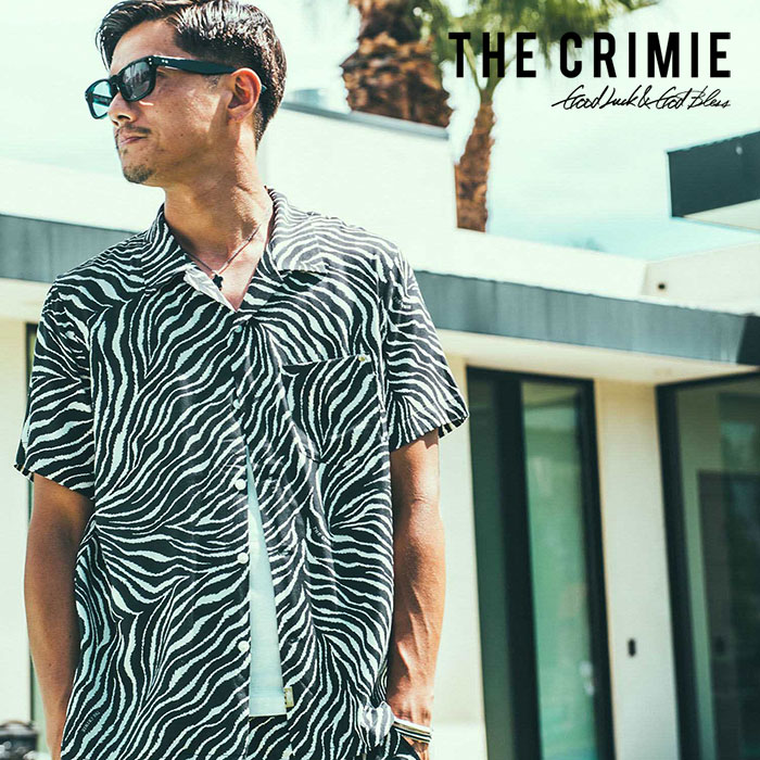 【SALE30%OFF】 CRIMIE(クライミー) TIGER ALOHA SHORT SHIRT 【2019SPRING/SUMMER新作】【送料無料】 【C1K1-SH15】【アロハシ