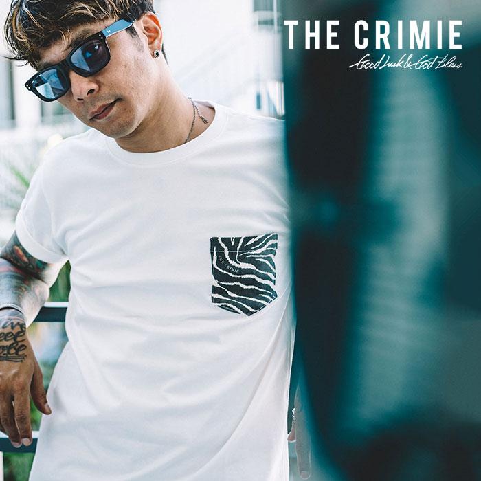 CRIMIE(クライミー) TIGER POCKET T-SHIRT 【2019SPRING/SUMMER新作】 【C1K1-TE02】【ポケット Tシャツ】