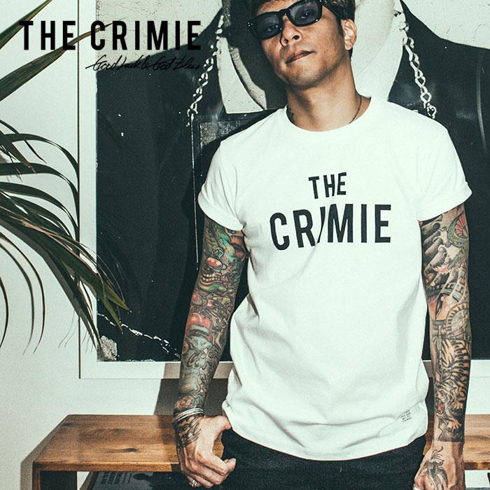 【SALE30%OFF】 CRIMIE(クライミー) THE CRIMIE LOGO T-SHIRT 【2019SPRING/SUMMER新作】 【C1K1-TE03】【ロゴ Tシャツ】【クラ