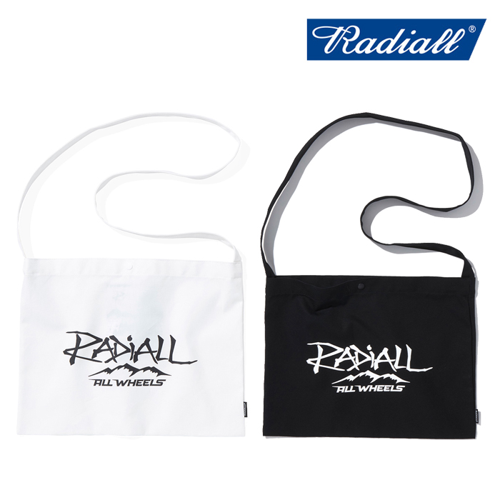 RADIALL (ラディアル)  ALL WHEELS - SHOULDER BAG  【ショルダーバッグ】【2021 AUTUMN&WINTER COLLECTION】【RAD-21AW-BAG001】