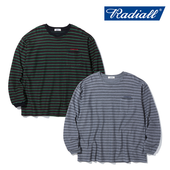 RADIALL ラディアル   DUBWISE - CREW NECK T-SHIRTS L/S  【Tシャツ 長袖】【2021 AUTUMN&WINTER COLLECTION】【RAD-21AW-CUT009