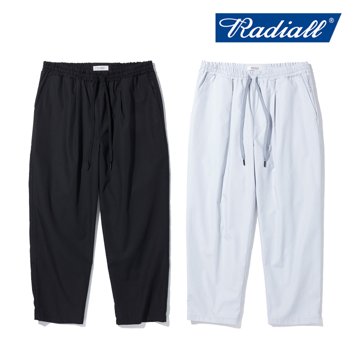 RADIALL(ラディアル) CONQUISTA - STRAIGHT FIT EASY PANTS 【イージーパンツ】【2021 AUTUMN&WINTER COLLECTION】【RAD-21AW-PT00