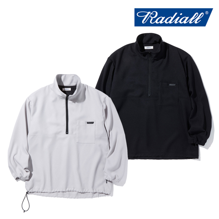 RADIALL ラディアル   TARIKA - STAND COLLARED PULLOVER SHIRT L/S  【プルオーバーシャツ】【2021 AUTUMN&WINTER COLLECTION】【