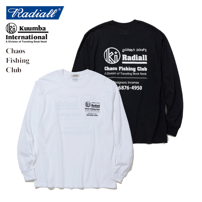 RADIALL(ラディアル) GOLDEN HOURS - CREW NECK T-SHIRT L/S 【2019 SPRING&SUMMER SPOT COLLECTION】 【RAD-19AW-SPOT-JW003】【