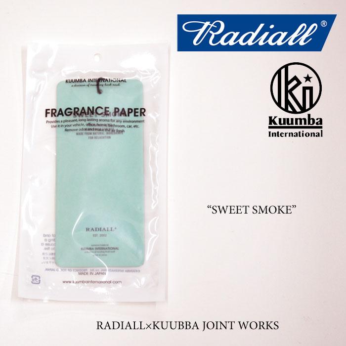 RADIALL(ラディアル) SWEET SMOKE FRESHENER air freshener(エアフレッシュナー) 【RADIALL エアフレッシュナー】【KUMMBA】【クン