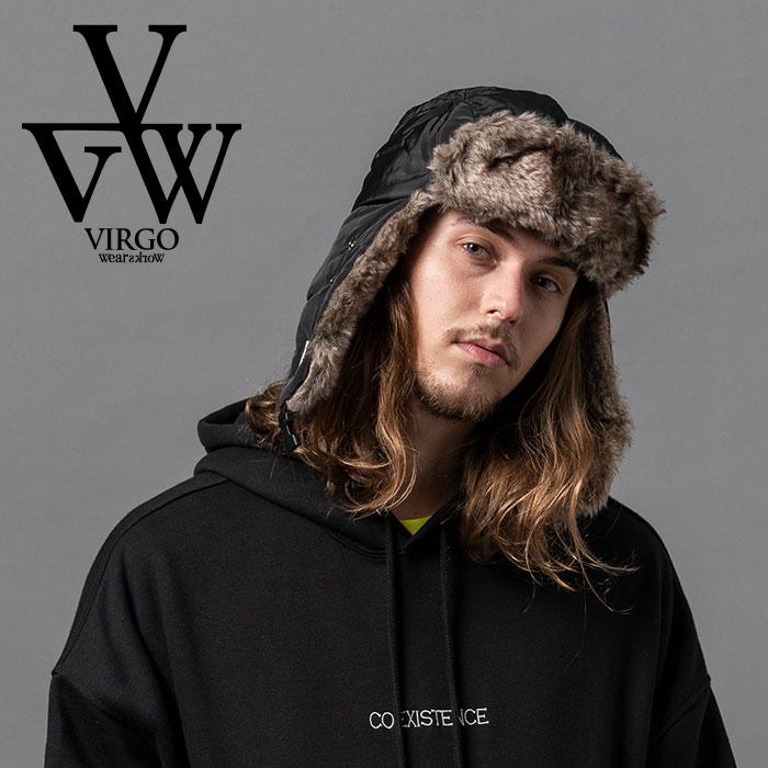 VIRGO ヴァルゴ バルゴ SIBERIAN BOA CAP 【キャップ】【VG-GD-636】【2020AUTUMN&WINTER先行予約】【キャンセル不可】【VIRGOwear
