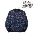 COOTIE Flames Mockneck Sweatshirt(Cold Flames)