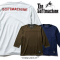 SOFTMACHINE(ソフトマシーン) FORMATION-FT(MESH 3/4 FOOTBALL T-SHIRTS) 【2018SUMMER VACATION先行予約】 【送料無料】【キャン
