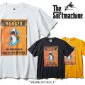 SOFTMACHINE(ソフトマシーン) SHARK ATTACK-T(T-SHIRTS) 【2018SUMMER VACATION先行予約】 【キャンセル不可】 【SOFTMACHINE T