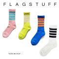 F-LAGSTUF-F(フラグスタフ) 4LINE MID SOX 【2017 AUTUMN/WINTER COLLECTION】 【F-LAGSTUF-F】 【フラグスタフ】【フラッグスタ