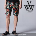 VIRGO(ヴァルゴ) U.N.V big aloha shorts 【2018SPRING/SUMMER先行予約】 【送料無料】【キャンセル不可】 【VG-PT-288】