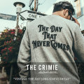 CRIMIE(クライミー) VINTAGE  THE DAY LONG SLEEVE SWEAT 【2018SPRING/SUMMER新作】 【送料無料】【即発送可能】 【C1H1-SW12】