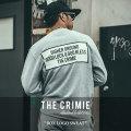 CRIMIE(クライミー) BOX LOGO SWEAT 【2018SPRING/SUMMER新作】 【送料無料】【即発送可能】 【C1H1-SW20】 【CRIMIE スウェッ